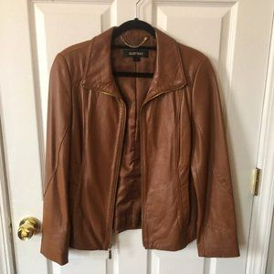 Ellen Tracy Leather Jacket